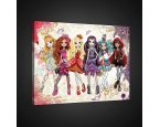 Obraz na plátně dětský Ever After High 100 x 75 cm